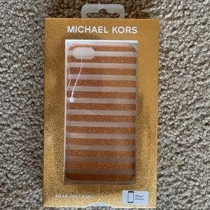 iPhone 7 + 8 Michael Kors Snap-On Case